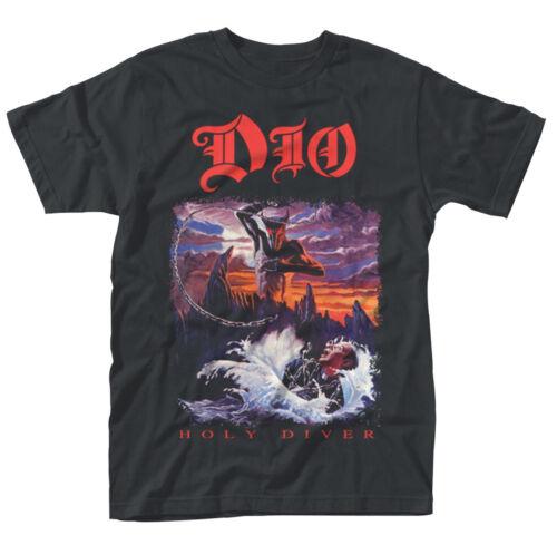 NEW /& OFFICIAL! Dio /'Holy Diver Album/' T-Shirt