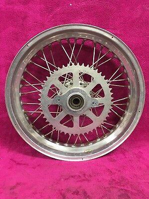 18x3.5 Rear Wheel Flat Track Akront 40 Hole Quick Change Rim Hub 18 3.5 Tracker