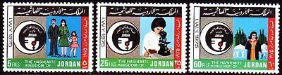 Briefmarken Jordanien Jordan 1976 ** Mi.992/94 Jahr Der Frau Womens Year Universität Dauerhafter Service