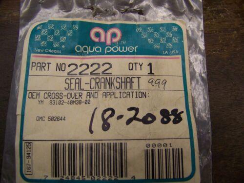 NEW SIERRA OMC SEAL 18-2088