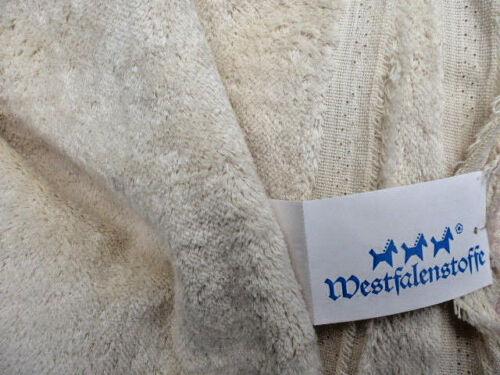 0,25cm peluche teddy de peluche westfalenstoff bio algodón natural 001740125 31 €//m