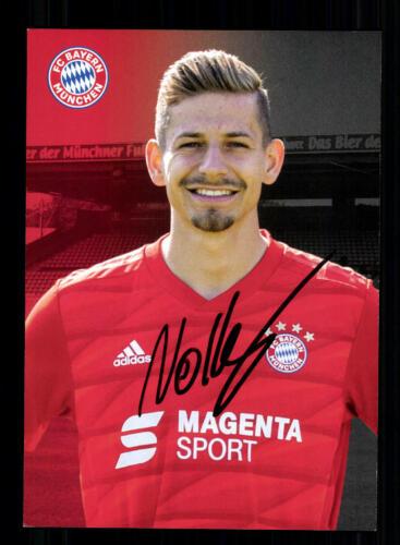 Alexander Nollenberger Autogrammkarte Bayern München Amateure 2019-20 Original S