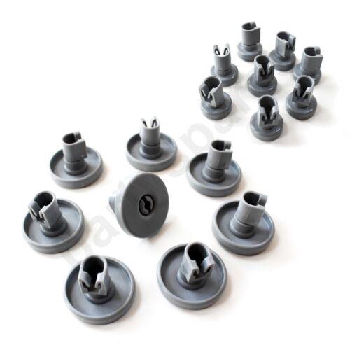 Pour IKEA DW60 RDW60 Panier de lave-vaisselle ROUES Set complet Top Bottom Upper Lower