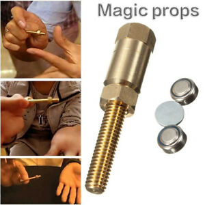 Amazing Magic Props Autorotation Rotating Nut Off Bolt Screw Close Up Trick Toys