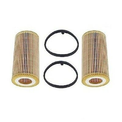 Engine Oil Filter x 2 MANN 06D115562MN for Audi Volkswagen