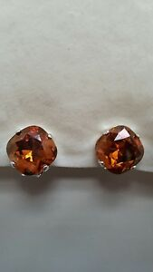 Crazy-Cushion-Clip-Earrings-using-Swarovski-Crystal-Copper-Made-in-UK