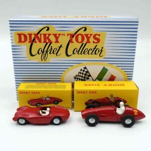 Coffret-FERRARI-MASERATI-des-annees-50-ref-CF-01-au-1-43-de-dinky-toys-atlas