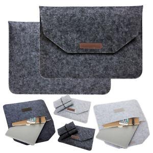 53fc614aff00 Details about Notebook Felt Bag Laptop Sleeve Case Cover For Macbook Air  Pro Retina 11 13