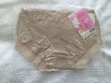 New Women's Sexy Fashion Panties-Thong Knickers Lingerie Underwear Beige