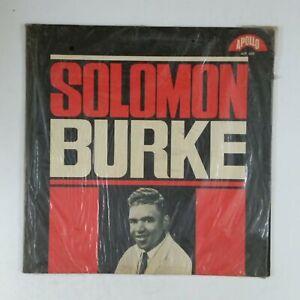 SOLOMON-BURKE-s-t-ALP498-LP-Vinyl-VG-Cover-Shrink-VG-Test-Played-1962-Apollo