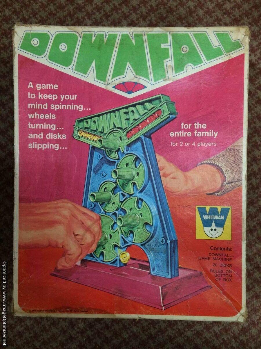 Chute vintage jeu Whitman 1970