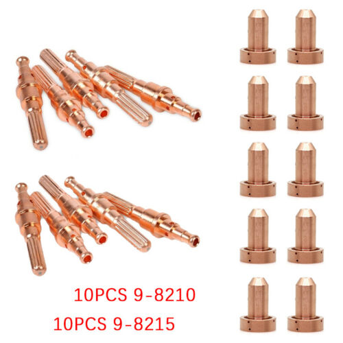 20PCS Plasma Consumables For Thermal Dynamics SL60//100 PK20 9-8215 9-8210 Solid