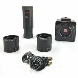 CMOS-Camera-HD-5MP-USB-Digital-Electron-Microscope-Eyepiece-W-C-Mount-Adapter