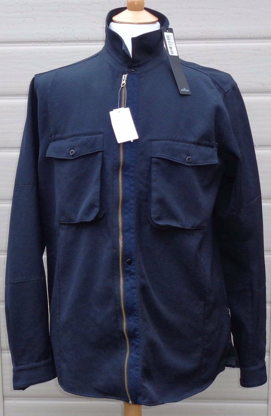 STONE ISLAND SHADOW PROJECT ZIPPED SHIRT Größe SMALL NEW WITH TAGS    Tadellos