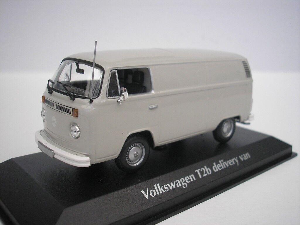 precios mas bajos VW Volkswagen T2B T2B T2B T2 B Furgoneta 1972 gris 1 43 Maxichamps 940053060 Nuevo  vendiendo bien en todo el mundo