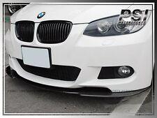 3 Series Carbon Fiber Front Bumper Lip For 2007-2010 BMW E92 E93 2Dr w/ M-Tech