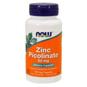 Now Foods-Zinco Picolinato - 50mg x 120 CAPSULE VEG