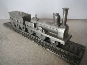 1848 Great Northern Railway 2-2-2 Royal Hampshire Pewter Steam Loco