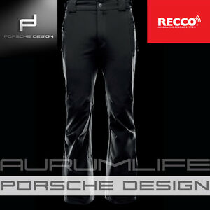 4bf258444c4 ADIDAS PORSCHE DESIGN BLACK SKI LUXURY PANTS RECCO TROUSERS SPORT ...