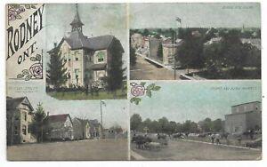 Elgin-County-RODNEY-ONTARIO-multi-view-Circa-1910