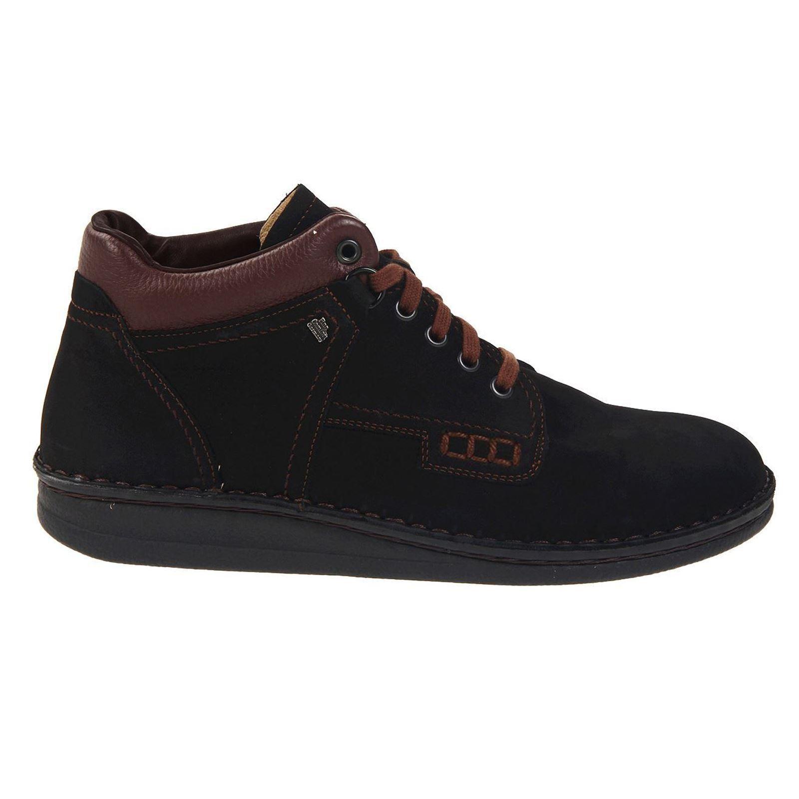 Finn Comfort 1008 Linz Black Brown Womens Boots