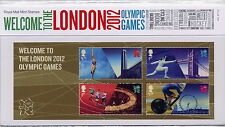 GB Presentation Pack 474 2012 WELCOME TO LONDON OLYMPIC GAMES 10% off any 5+