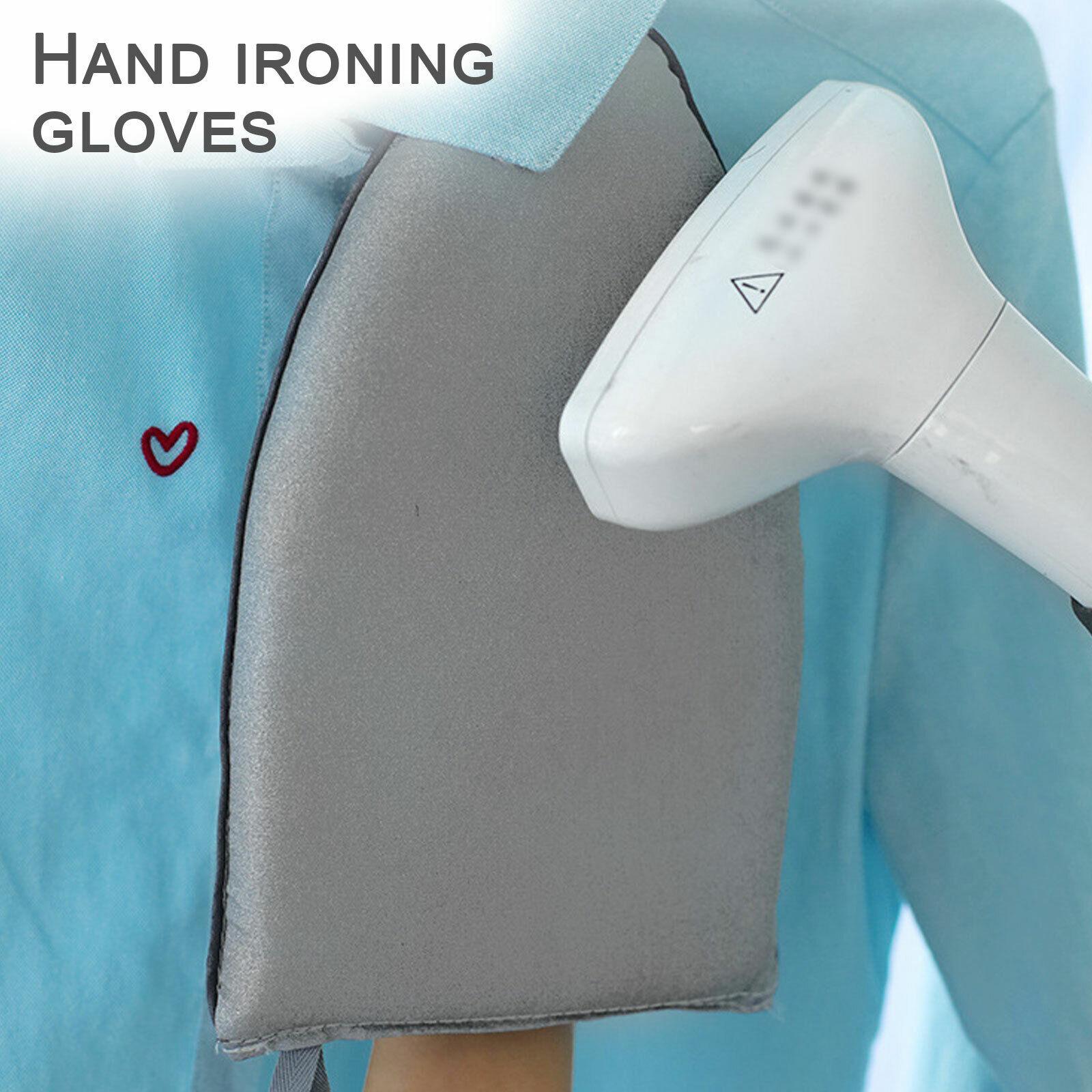 Mini Ironing Board Handheld Ironing Steamer Glove Home Laundry Ironing Mitt Pad