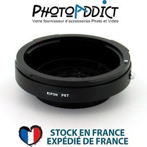 KIPON-P67-NIK-Bague-d-039-adaptation-objectif-Pentax-67-vers-boitier-Nikon-F