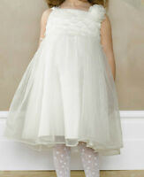 Monsoon Baby Faith Toddler Dress Ivory Party Bridesmaid Wedding Christening