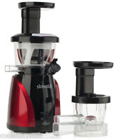 New Tribest Slowstar Slow Juicer Mincer with $197 in Bonus Gifts
