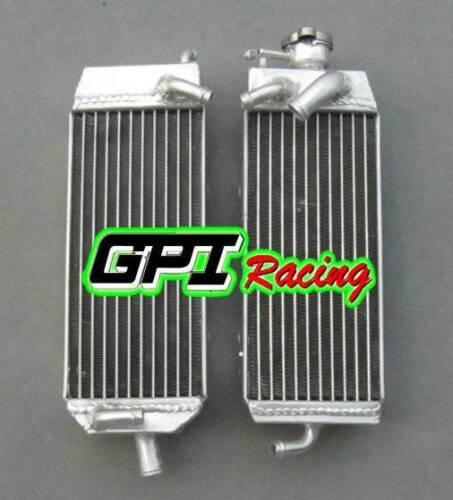 FOR SUZUKI RM125 MODEL W//X//Y 1998-2000 ALUMINUM RADIATOR AND HOSE