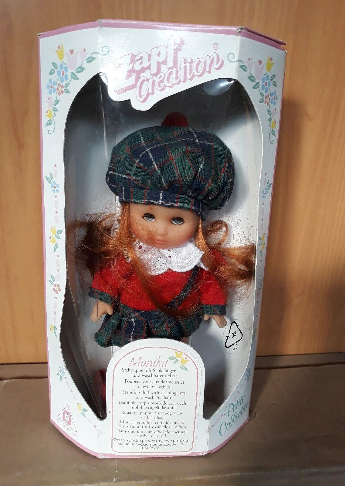 Vintage Zapf Puppe Zapf Creation Monika alt OVP unbespielt