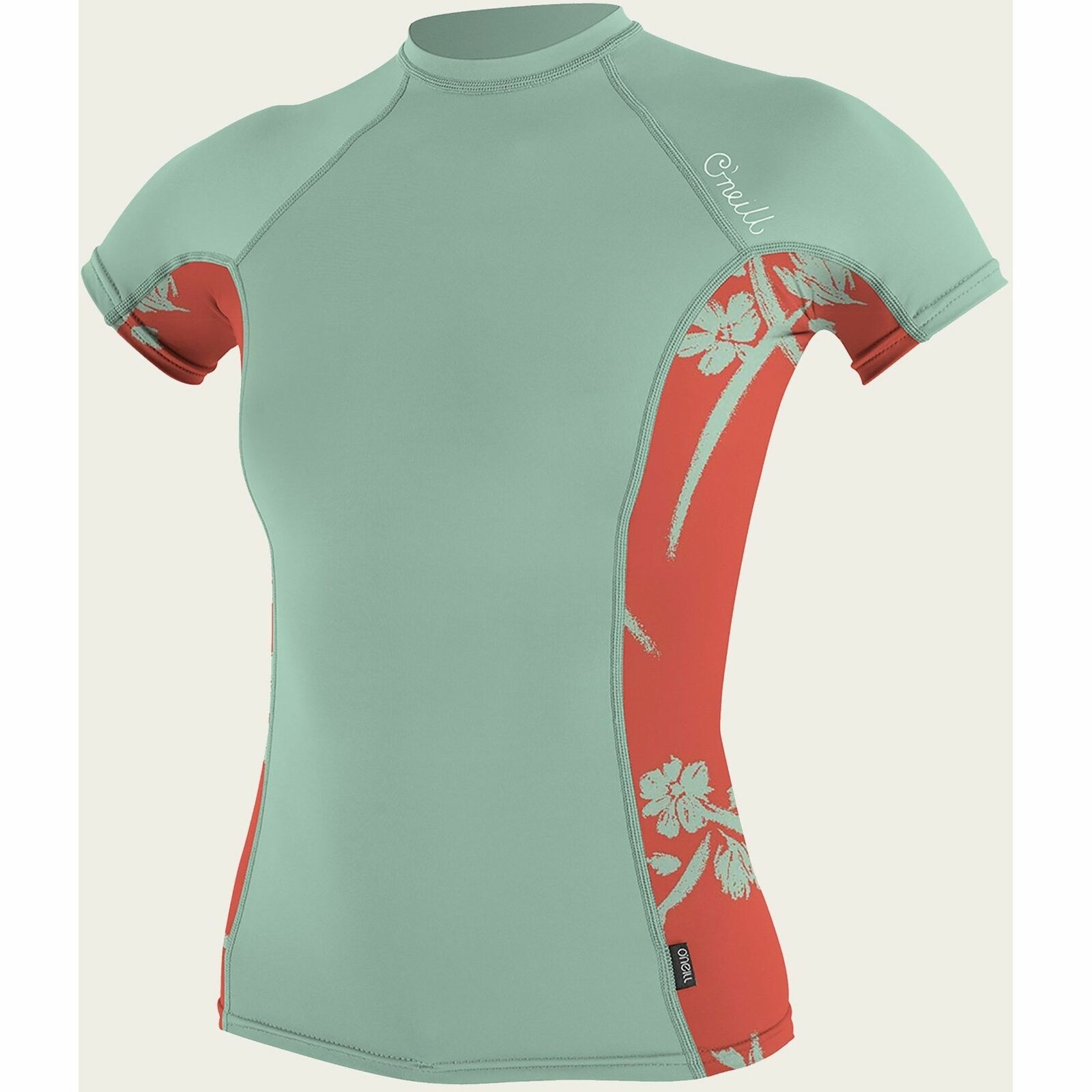 O'Neill  Women's Side Print Rash Guard  free delivery and returns