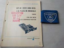 HEWLETT PACKARD 17601A HP/IB I/O PLUG IN MODULE SERVICE MANUAL