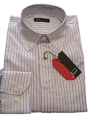 Camicia Uomo Jo Sorrento Tg. 42 43 Cotone Classic Shirt Button-down 1c Le Merci Di Ogni Descrizione Sono Disponibili