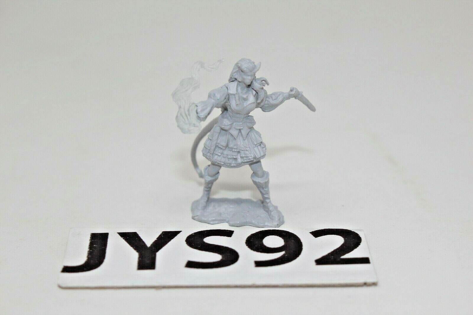 Warhammer Fantasy RPG Miniture Tiefling Sorcerer - JYS92