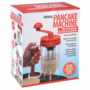 24240a3f0fa Image is loading Manual-Batter-Dispenser-Pancake-Machine -Perfect-Cupcakes-Waffles-