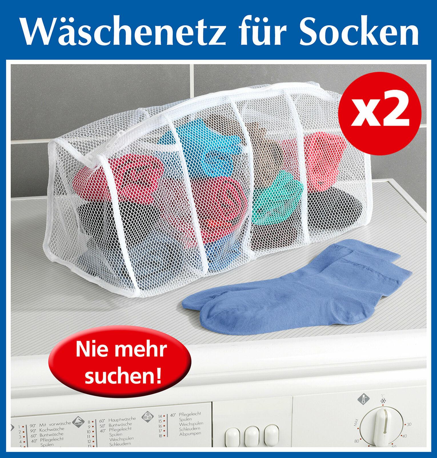 ohne Marke Socken-Wäschenetz 2er-Pack