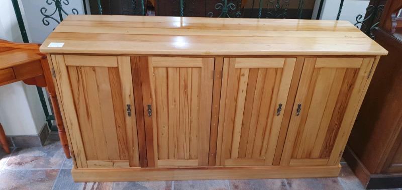 Yellow-wood 4-door Sideboard