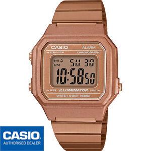 CASIO B650WC-5AEF*B650WC-5A**ORIGINAL**Oro Rosa*Rose Gold*Bronze*Retro*Vintage