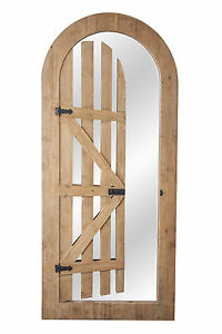 Image Is Loading Arched Illusion Glass Mirror Gate 5ft 11in X