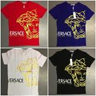 Versace Men's T-Shirts Crew Neck Brand New Versace Collection Free Shipping