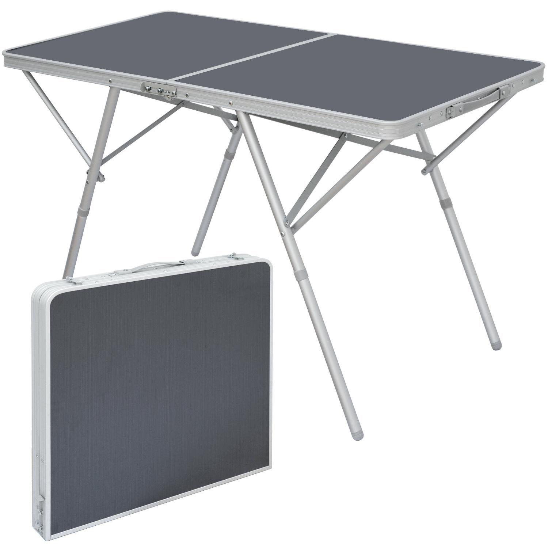 Standfester Aluminium Campingtisch 120x60x70cm Klapptisch Stabiler Klapptisch 120x60x70cm Alu-Falttisch 9aa9c8