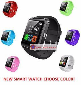 Bluetooth Wireless Smart Wrist Watch Phone For Samsung S3 S4 S5 S6 Edge S7 S8