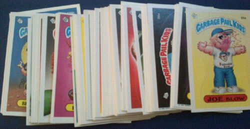 GARBAGE PAIL KIDS SERIES 3 STICKER SET 1986