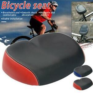 Extra-Comfort-Wide-Big-Bum-Bike-Bicycle-Gel-Sporty-Soft-Pad-Saddle-Seat