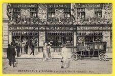 cpa Très RARE 75 - PARIS RESTAURANT VIENNOIS 5 rue d' HAUTEVILLE Illustré WEIVAL
