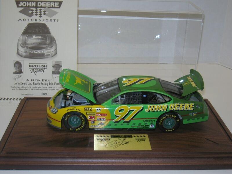 1 18 John Deere mototsports  97 1998 Dealer Ed. livraison gratuite