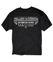 SONS OF ANARCHY TELLER-MORROW AUTOMOTIVE REPAIR CHARMING CA. T-SHIRT NEW !