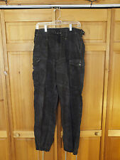 "British Army Dyed Desert DPM Black ""Night"" Camo Field Pants, Size Small 85/84"